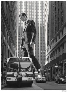 Jeremy Matos + Richard Detwiler are Larger Than Life for Details Fall 2014 Suiting Fashion Editorial image Details Fall 2014 Suiting 005