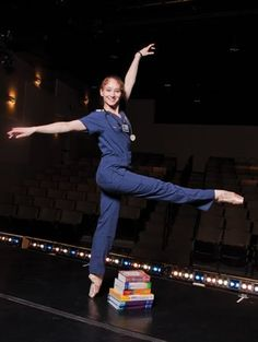 "Ashley Blade-Martin is pursuing a career in the nursing field after an 18-year career as a professional dancer. ""A lot can be prevented with a nurse who's on her tippy toes,"" she said in an interview with TulsaPeople."