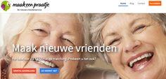 www.maakeenpraatje.nl Andere 50-plussers leren kennen via een kort telefoongesprek