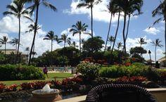 Breakfast View from the #Kauai Beach Resort