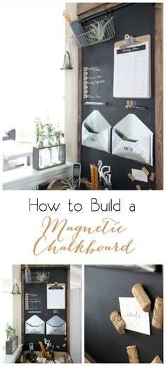 How to Build a Magnetic Chalkboard - DIY Project