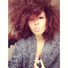 I absolutely love this color, natural hair