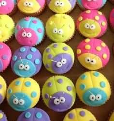 Beetle Cup Cakes