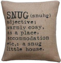 Create a snug and cosy home