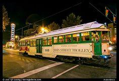 Main Street trolley  Memphis - Tennessee