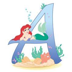 Disney Alphabet Cards: A-F