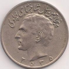 Motivseite: Münze-Asien-Iran-ریال-٢٠-2535