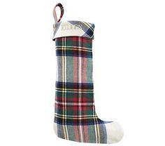 Christmas Stockings: Tartan Plaid Stocking