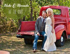 Blake Shelton/Miranda Lambert wedding