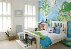 green and blue kids room | bluegreen-kidsroom