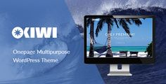 OKIWI – Onepage Multipurpose WordPress  Theme OKIWI is the multipurpose, clear, productive and nice looking theme for creating a professional one page website on the WordPress. This responsive template is designed for those who wish to create a beautiful and multifunctional one page site.