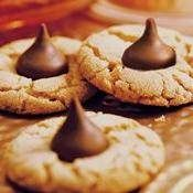 Peanut Butter Blossoms (Cookie Exchange Quantity) recipe from Betty Crocker