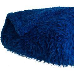 Somerset Home Solid Soft Plush Sherpa Fleece Throw Blanket
