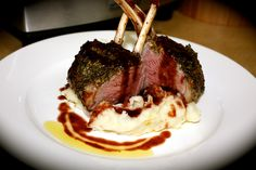 Herb and Mustard Crusted Lamb Racks with Quince Jus http://emsfoodforfriends.com.au/herb-mustard-crusted-lamb-racks-with-quince-jus/