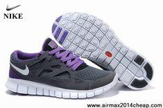 Latest Listing 443815-023 Mens Nike Free Run 2 Grey Purple White Sports  Shoes Shop 3aa400e894e9
