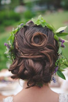 wedding hair style / Bit of Ivory Photography