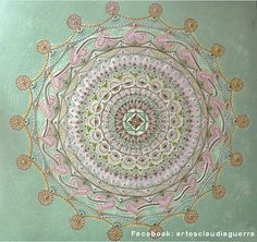 Mandala Pintura acrílica