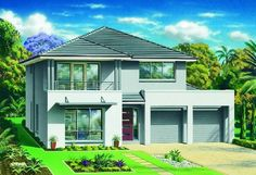 Masterton Home Designs: Fernleigh - Vogue RHS Facade. Visit www.localbuilders.com.au/builders_nsw.htm to find your ideal home design in New South Wales