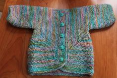 knit with Dancing Leaf Farm Samba (alpaca yarn) Ravelry: Toonerspal's Baby Surprise Jacket