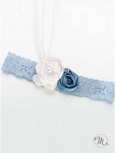 Giarrettiera - Vintage blu. Classica ed elegante, non può mancare nel corredo di una sposa.  Formato: taglia unica. In #promozione #matrimonio #weddingday #ricevimento #wedding #sconti #giarrettiera #giarrettiere #sconto #nozze