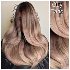 """Guy Tang on Instagram: """"Base with igora 6-32 6-23 30vol off scalp. Spray with prelift kera protector and dry into hair. lift with Lanza decolorizer cream 40vol and tone with loreal dialight 9.12 and 10.12 20mins. Thanks for watching on #periscope for the process"""""""