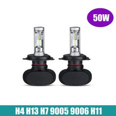 2x H4 H13 H7 H11 9005 9006 LED Car Headlight Bulbs 50W 8000LM CREE Chips CSP LED Headlights All in one Head Lamp Front Light