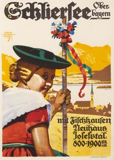Schliersee Ober-Bayern by von Suchodolski, Siegmund | Vintage Posters at International Poster Gallery