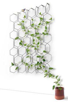 Home Challenge // Le végétal dans la déco : Treillis pour plantes Anno de Fréderic Malphettes via Nat et nature
