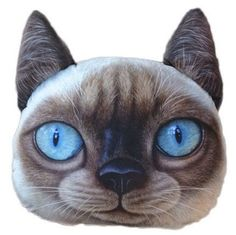 Plush Cat Coin Purse Siamese