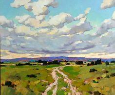 Spring Field by Min Ma