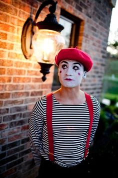 Maybe on the streets of France I'll run into a mime! Although they are slightly creepy so perhaps I will keep my distance.