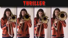 Michael Jackson - Thriller: Halloween 2014 Trombone Arrangement