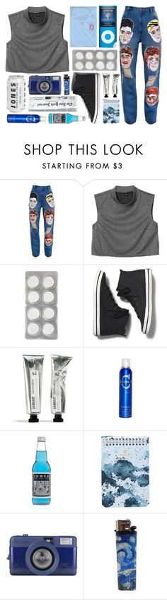 """► avery"" by amxnduhh ❤ liked on Polyvore featuring Ashish, Monki, Keds, TIGI and Postalco"