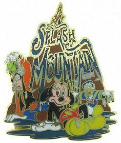 #disney Disney WDW Mickey Mouse and Friends Splash Mountain Pin 01 please retweet