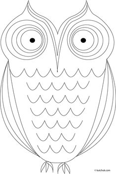 owls, coloring page, halloween, chouette à colorier