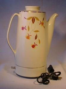 Autumn Leaf Electric coffee Pot. Please click the image for more information.