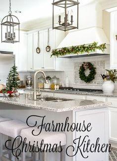 Farmhouse Christmas Kitchen Tour