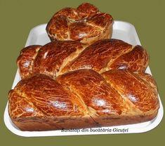 Cozonac pufos cu umplutura de nuca - Bunătăți din bucătăria Gicuței Romanian Food, Romanian Recipes, French Toast, Bakery, Deserts, Food And Drink, Cooking, Breakfast, Ethnic Recipes