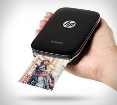 HP Sprocket is a tiny portable printer that allows you to instantly print the pics of your choice that you just took with your smartphone. Small (fits in the palm of your hand) and lightweight to ensure portability, it also has an interesting price p