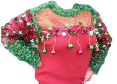 Ugly sweater contest winner goes to...