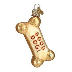Old World Christmas Dog Biscuit Glass Blown Ornament >>> You can find out more details at the link of the image.