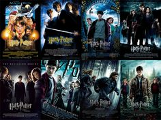 The Harry Potter Series!! another favorite.