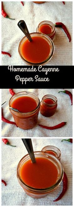 Homemade Cayenne Pepper Sauce - Rants From My Crazy Kitchen