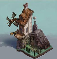 City of Gears: Workshop by SC4V3NG3R.deviantart.com on @DeviantArt