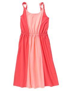 Colorblocked Maxi Dress at Gymboree