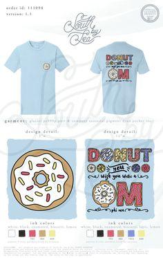 Phi Mu | Donut You Wish You Were a Phi Mu | Donut T-Shirt Design | South by Sea…