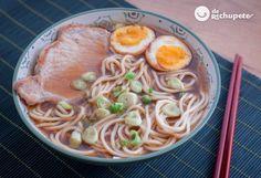 Cómo hacer ramen. Sopa japonesa casera