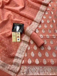 Indian Party Wear, Indian Wear, Indian Designer Wear, Punjabi Suits, Pure Silk, Louis Vuitton Monogram, Weaving, Pure Products, Boutique