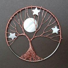 image result for tuto arbre de vie mural attrape reves attrape r ve. Black Bedroom Furniture Sets. Home Design Ideas