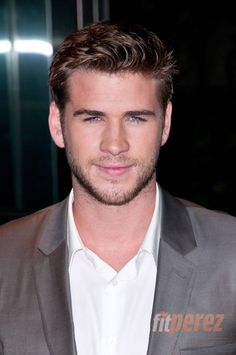 Even though I'm Team Peeta, they sure did cast a hottie to play Gale! :)